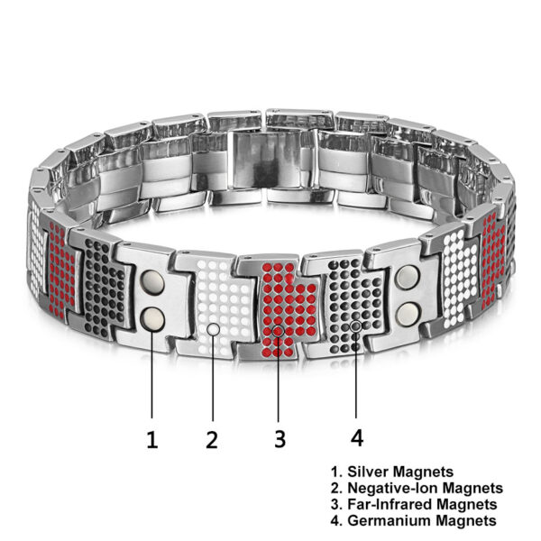deluxe_titanium_magnetic_therapy_bracelet_silver_magnets