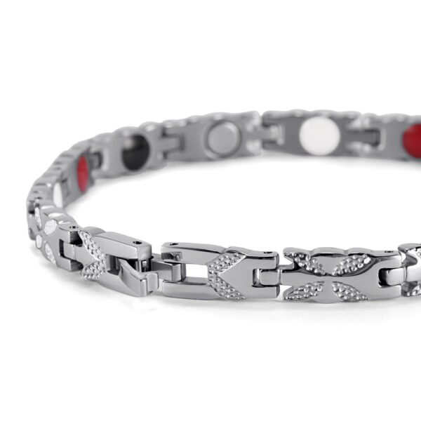 butterfly_cross_magnetic_therapy_bracelet_silver_clasp