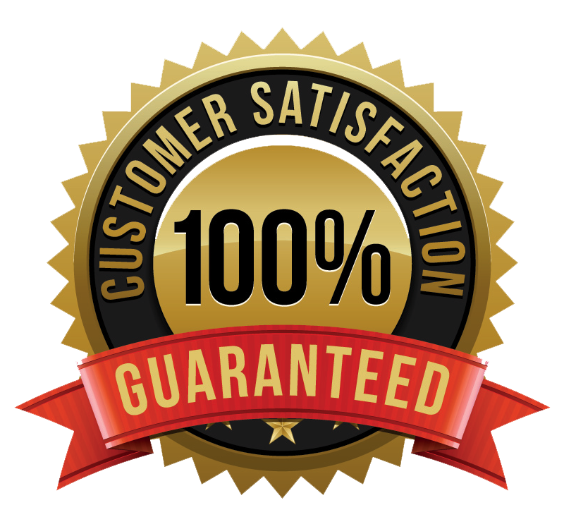 Customer Satisfaction Guaranteed Logo