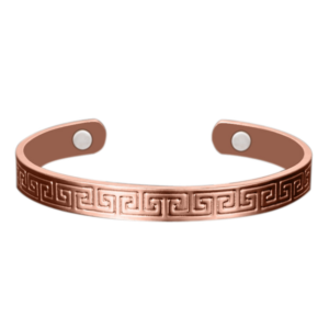 Aztec Engraving Copper Bracelet